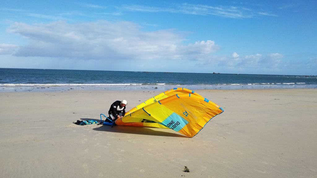 kitesurf duotone keremma Bretagne Finistère